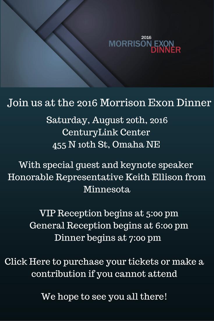 Morrison Exon Dinner